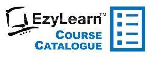 EzyLearn Online Training Course Catalogue for Xero, MYOB, Excel, Word, WordPress Logo