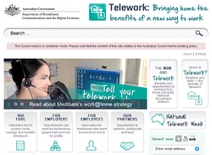 Teleworking and the NBN - sml