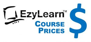 EzyLearn Online Xero, Excel, MYOB Training Course Prices Logo