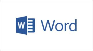 Microsoft Word Beginners, Essentials, intermediate, advanced training courses logo