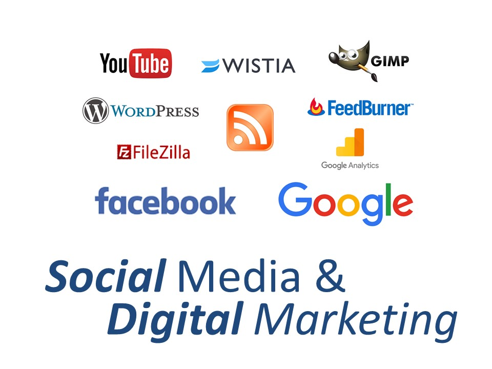 EzyLearn Social Media & Digital Marketing Training Course logo image only